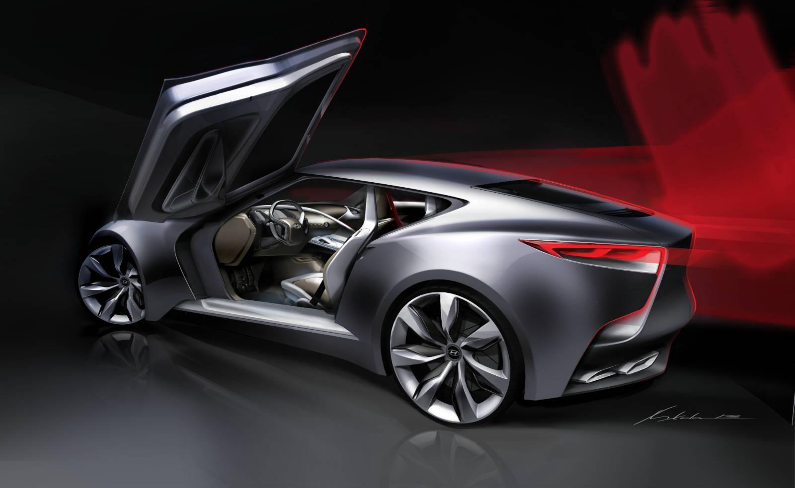 Hyundai S Unique Hnd 9 Luxury Sport Coupe Concept Unveiled