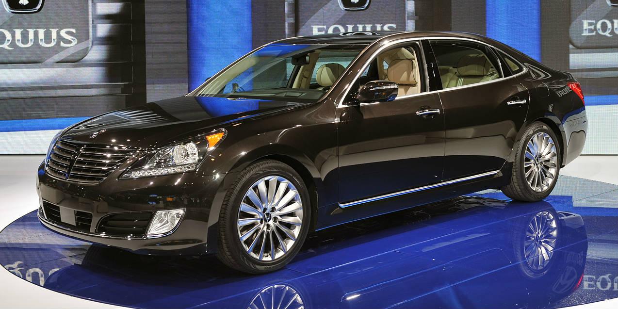 No 1 Shopped Premium Luxury Sedan Hyundai Equus Unveiled At 2013 New York Motor Show Muscle