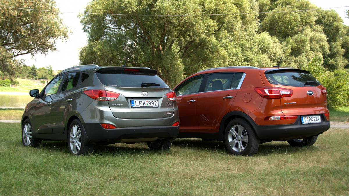 FACTS Why Hyundai Tucson/ix35 is better choice than Kia Sportage?