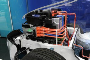Hyundai Started Production of the First Fuel Cell Vehicles ix35 1