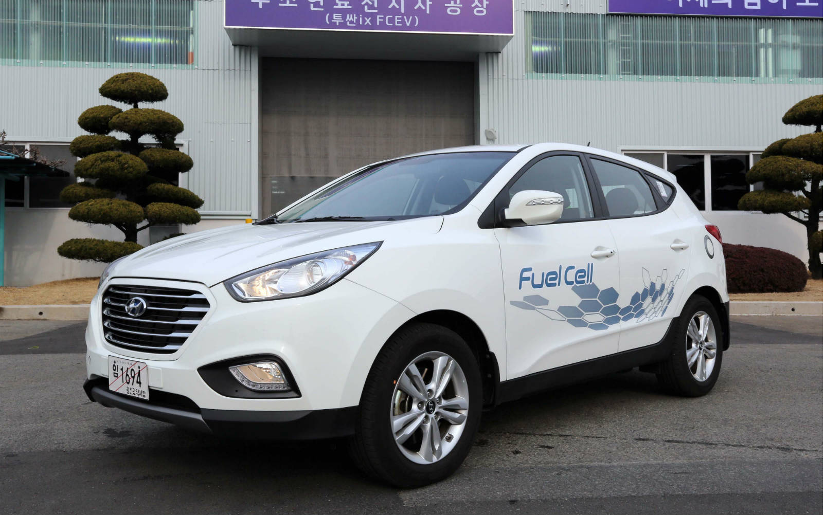 Hyundai Started Production of the First Fuel Cell Vehicles with \