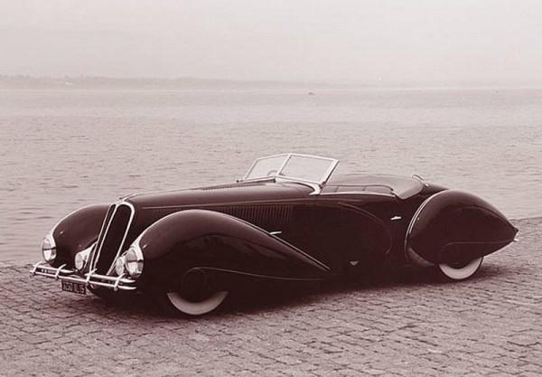 1938 Delahaye Type 135M aerodynamics