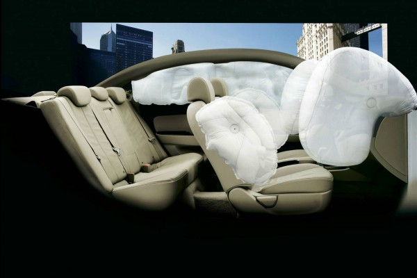 2013 hyundai azera air bag