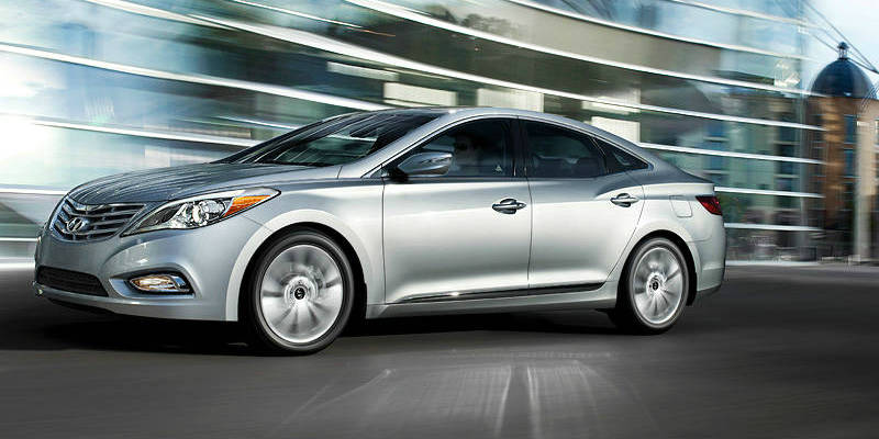 2013 hyundai azera side featured