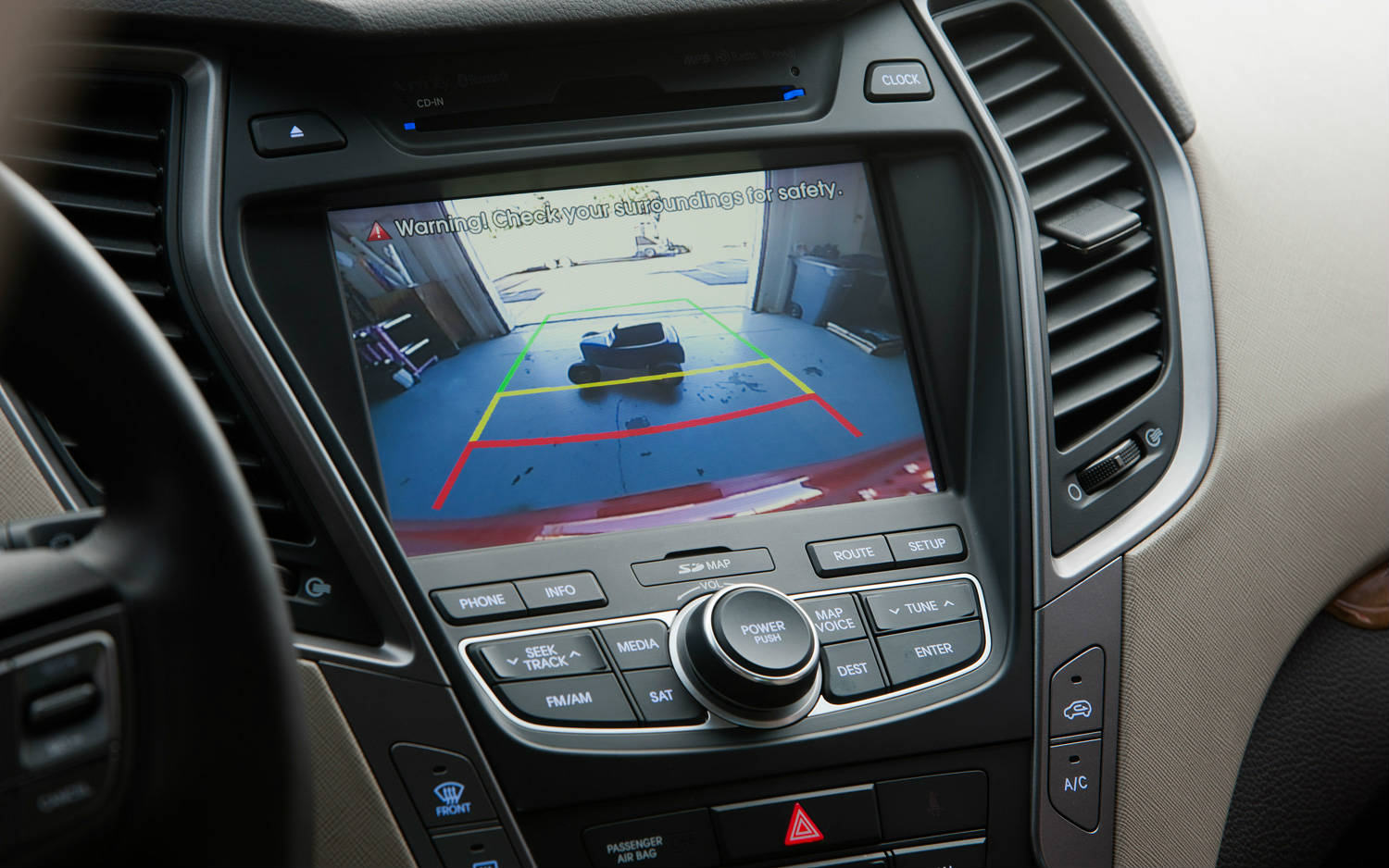 the 2013 hyundai santa fe sport entered the top 10 best interiors. Black Bedroom Furniture Sets. Home Design Ideas