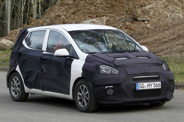 2014 hyundai i10 spy photo 1