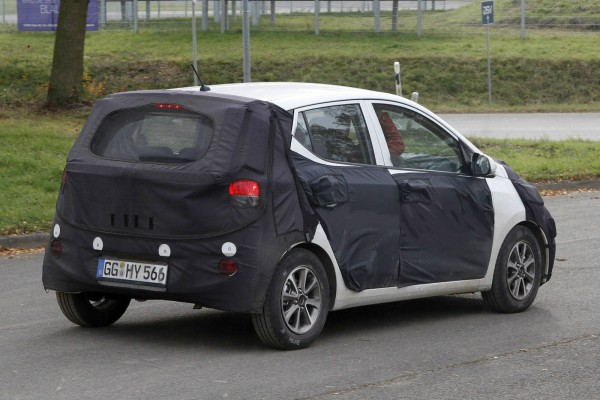 2014 hyundai i10 spy photo 3