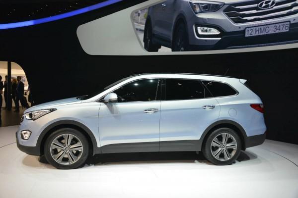 Hyundai grand santa fe shanghai International Automobile Industry Exhibition