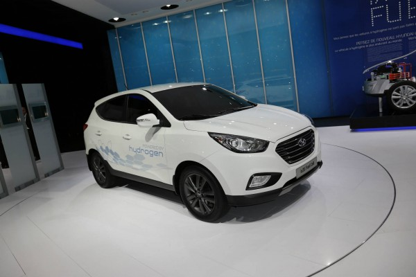 Hyundai ix35 fuel cell shanghai International Automobile Industry Exhibition