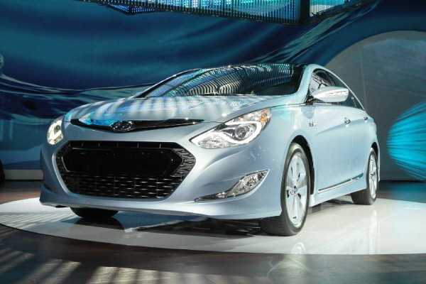 hyundai Sonata Hybrid shanghai International Automobile Industry Exhibition