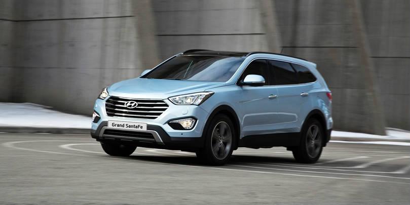 "5 Development Facts for Hyundai's ""Big Boy""! Grand Santa Fe Review ..."