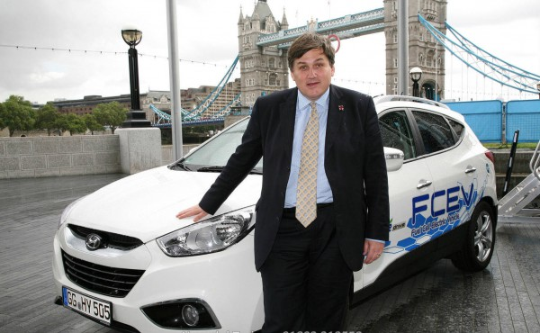 hyundai ix35 fuel cell london mayor 1