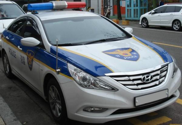 hyundai sonata police car
