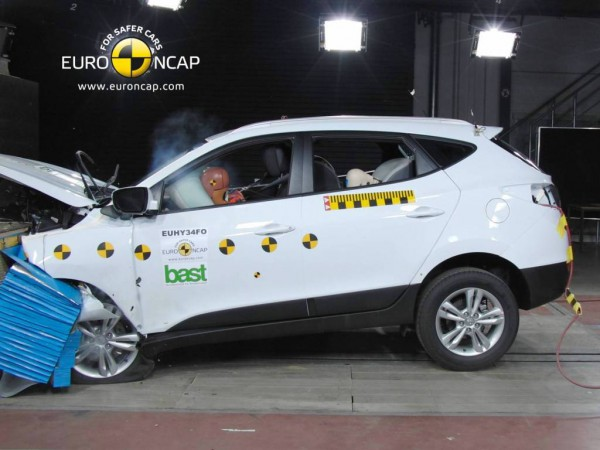 ix35 crash test Euro ncap
