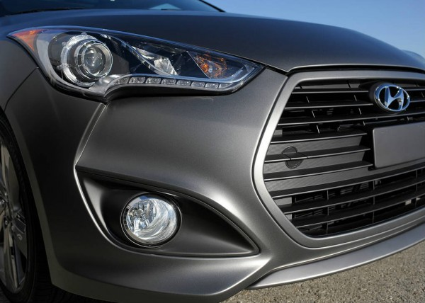 2013 Hyundai veloster turbo head lights