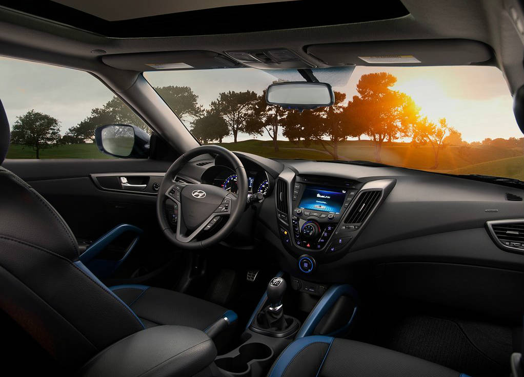 Hyundai veloster turbo handles and rides surprisingly well - Hyundai veloster interior accessories ...