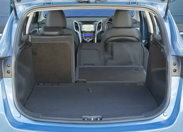 2013 hyundai i30 wagon trunk