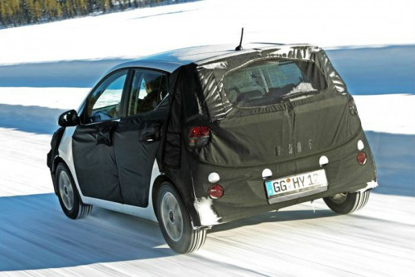 2014 hyundai i10 rear tracking