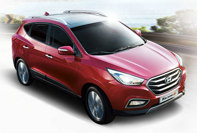 the new 2014 hyundai tucson unveiled in korea restyling new engine and technological upgrades. Black Bedroom Furniture Sets. Home Design Ideas