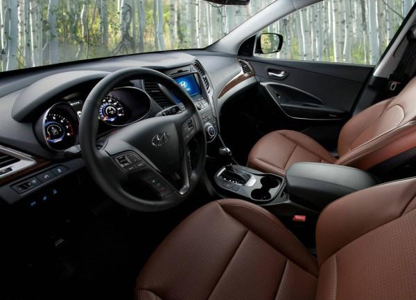 Hyundai Santa Fe Sport 2013 interior