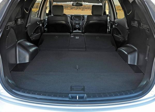 Hyundai Santa Fe Sport 2013 trunk boot