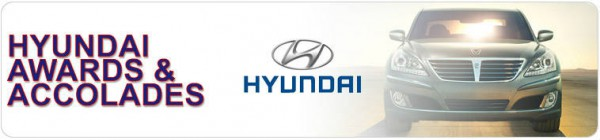hyundai awards accolades 2012