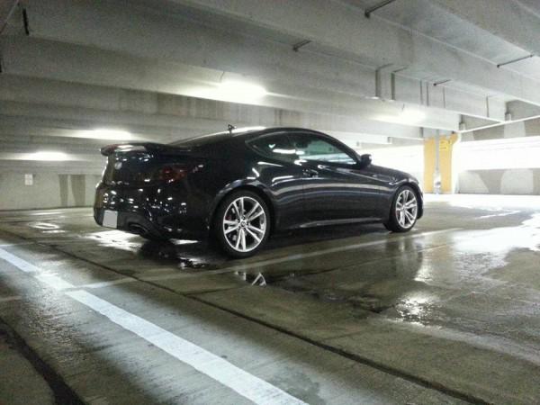 hyundai genesis coupe tuning rear