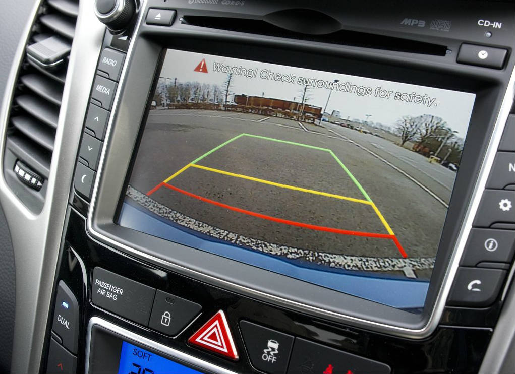 hyundai i30 3-door rear view camera - Muscle Cars Zone!