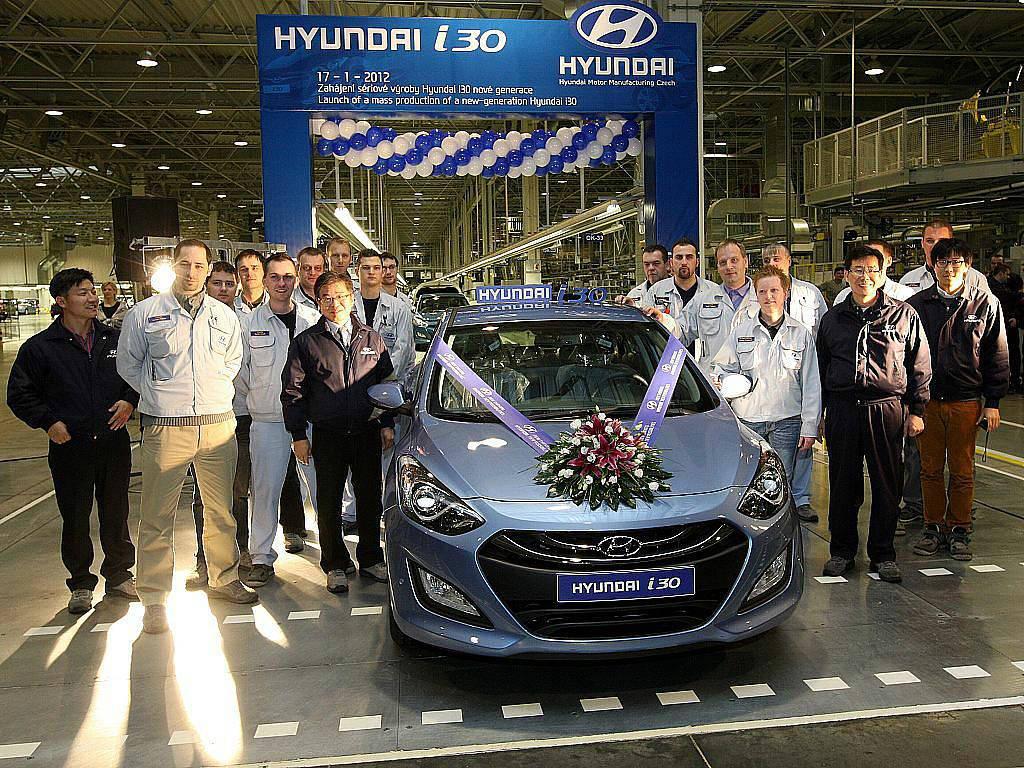 Beautiful Hyundai Manifactyring Czech Nosovize