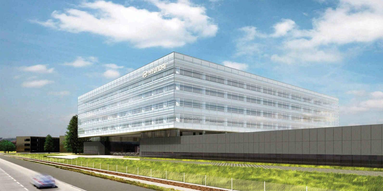 Hyundai motor company united states -  200 Million Headquarters Office Building For Hyundai Motor America Muscle Cars Zone