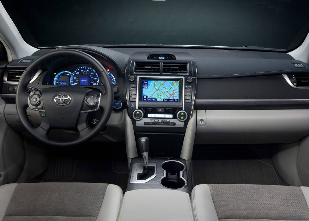 toyota camry hybrid interior - Muscle Cars Zone!