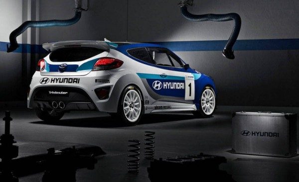 2013 Hyundai Veloster Turbo Racing Concept rear
