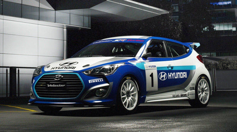 2013 Hyundai Veloster Turbo Race Concept Meets the FIA and CAMS ...