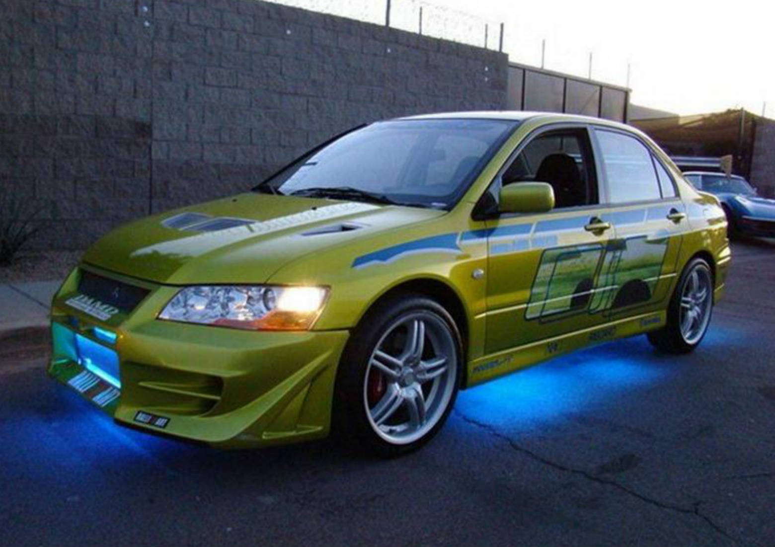 2 Fast 2 Furious Paul Walker Mitsubishi Evo2 Muscle Cars