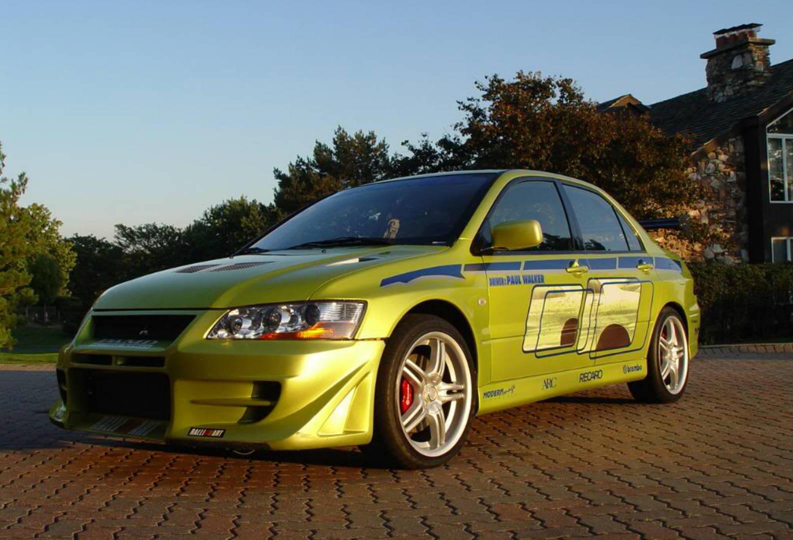 2 Fast 2 Furious Paul Walker's Mitsubishi Evo for Sale on eBay ...