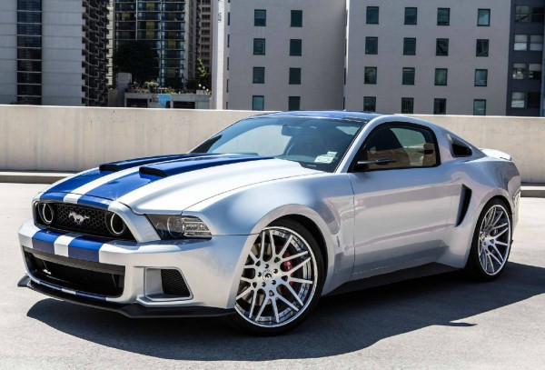Ford-Mustang-Need-for-Speed stunning scenes