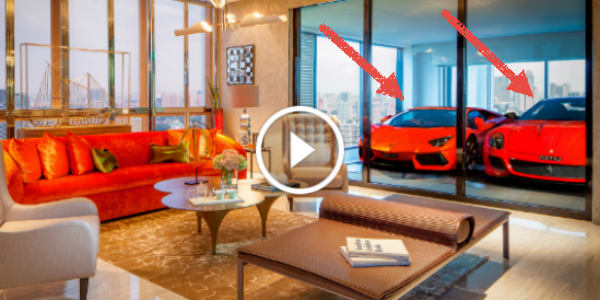 Coolest Way To Park Your Supercar Luxury Car Elevator For Upscale Apartments In Singapore Muscle Cars Zone