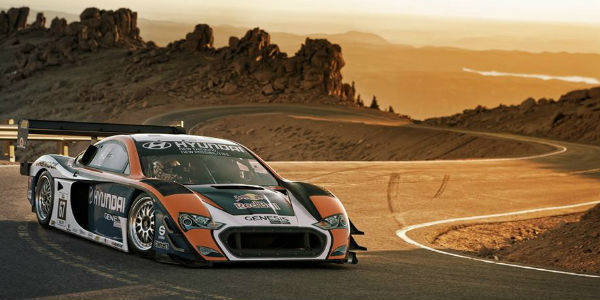 Rhys Millen Pikes Peak Hyundai Motorsports Races f