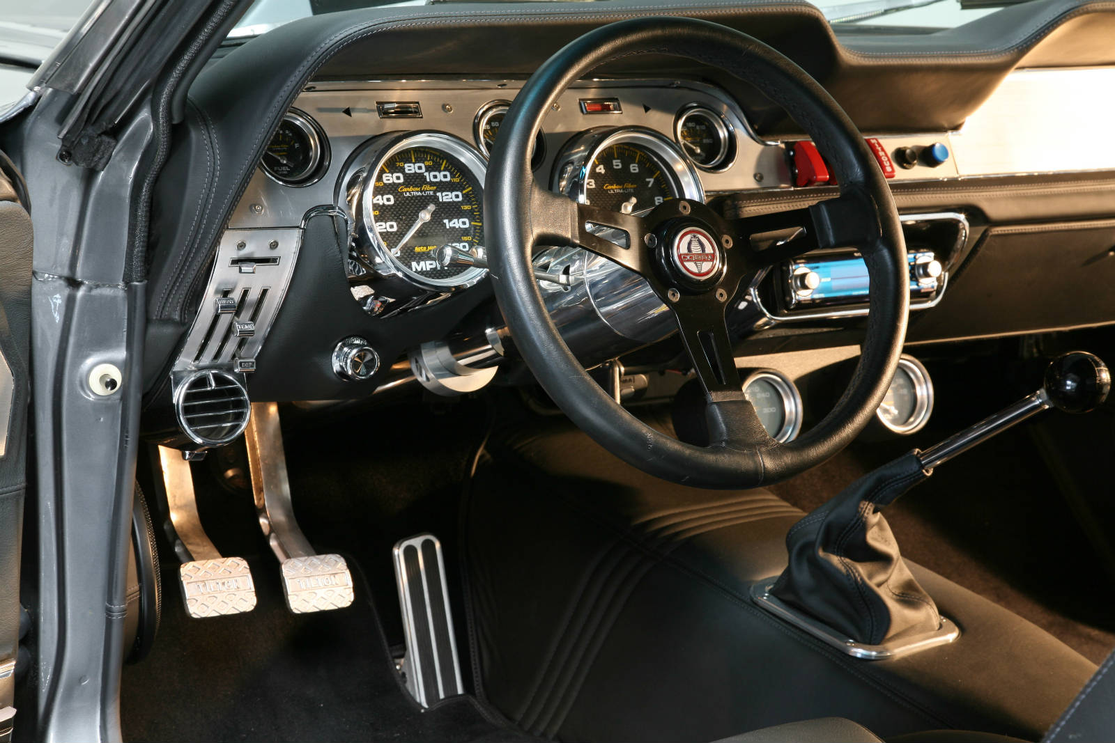 Mustang Shelby Gt500 Eleanor Interior1 Muscle Cars Zone