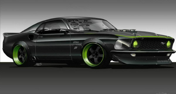 1969 Mustang RTR-X - Vaughn Gittin Jr 1