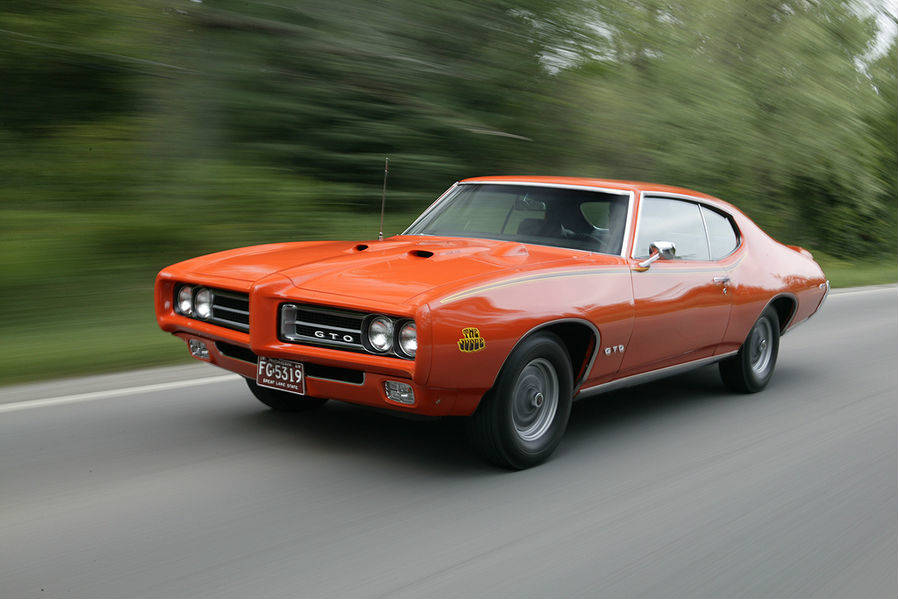 1969 pontiac gto judge muscle cars zone