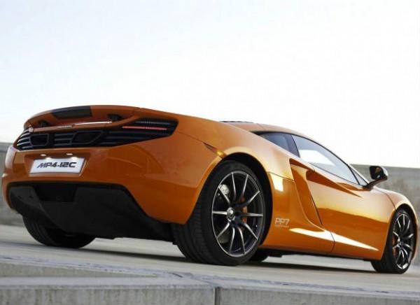 2012 McLaren 12C 4