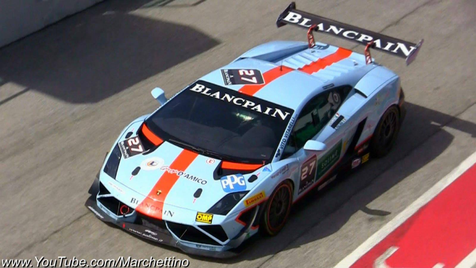 Lamborghini 2013 Lp570 4 Supertrofeo Racing Sounds