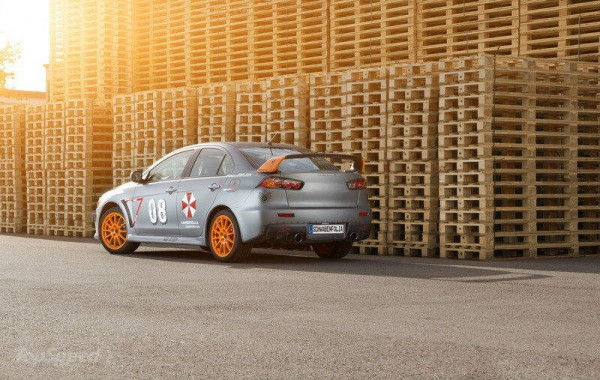 2013 Mitsubishi EVO X Stealth Fighter by Schwabenfolia 3