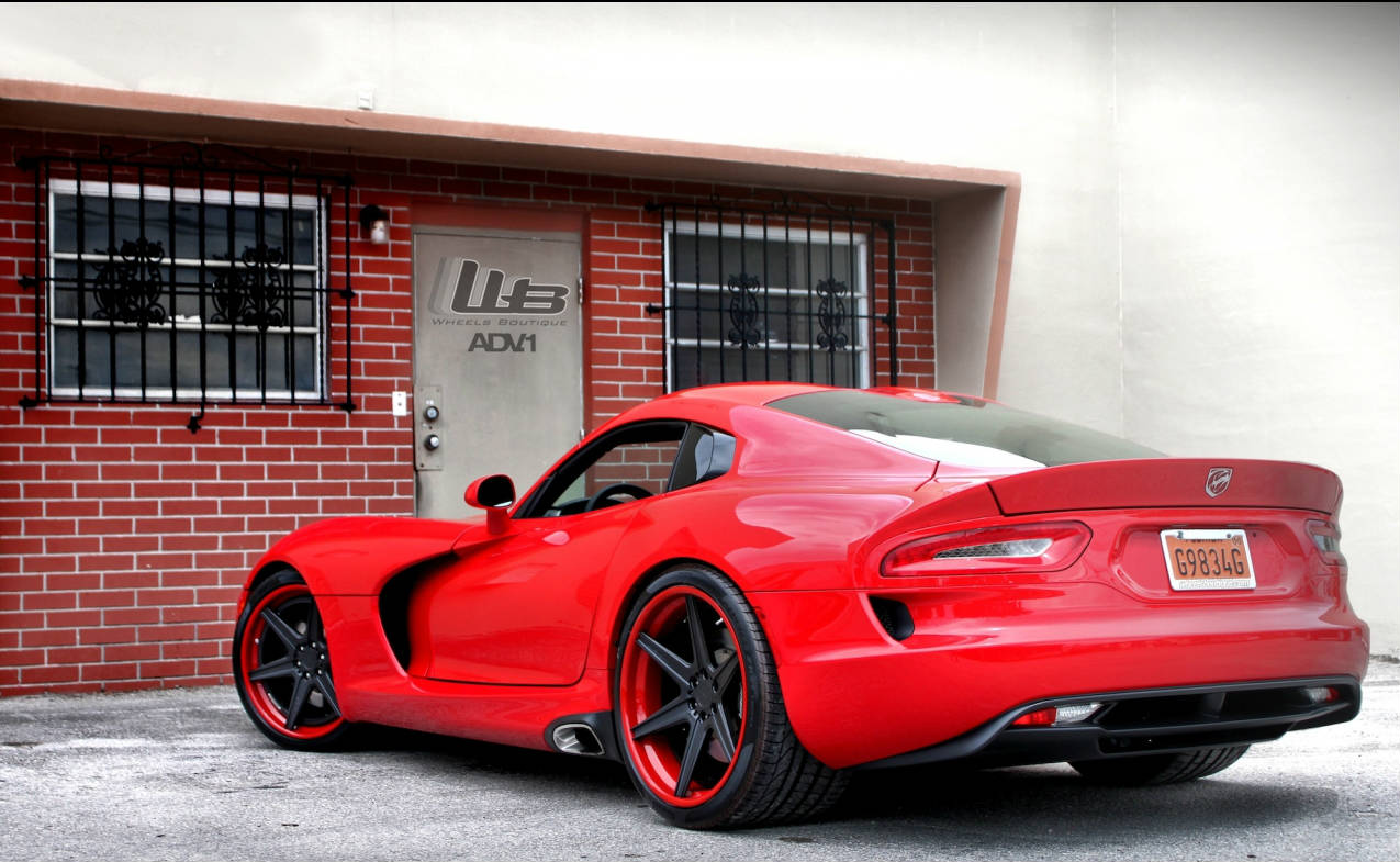 Srt Viper By Wheels Boutique Muscle Cars Zone