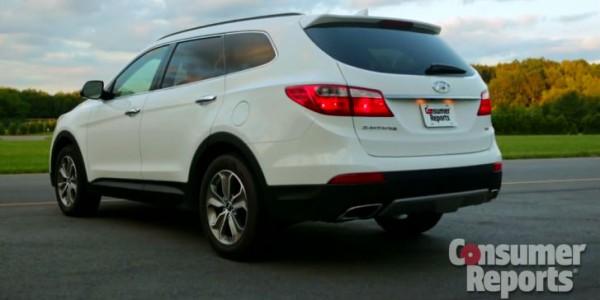 2013 Hyundai Santa Fe Review By Consumer Reports Video