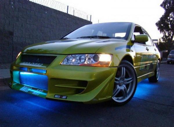 Mitsubishi Evo VII fast and furious