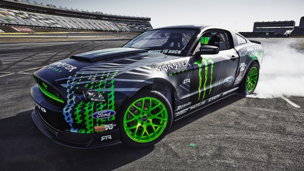 2014 Ford Mustang RTR - Monster Energy Nitto Tire with 845hp