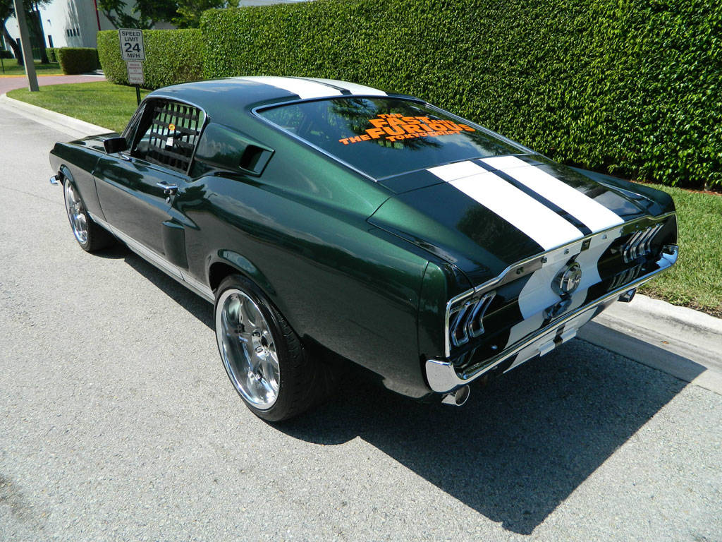 Fast and Furious Mustang 67 Ford Mustang Tokyo Drift 3