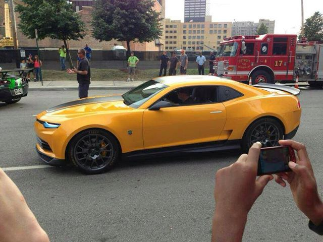 2014 camaro bumblebee concept from transformers 4. Cars Review. Best American Auto & Cars Review